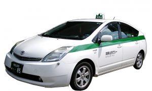 中型 プリウス ハイブリッドタクシー