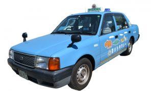 小型 クラウン コンフォートタクシー