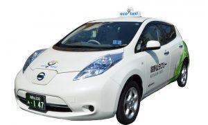 EV タクシー(リーフ)